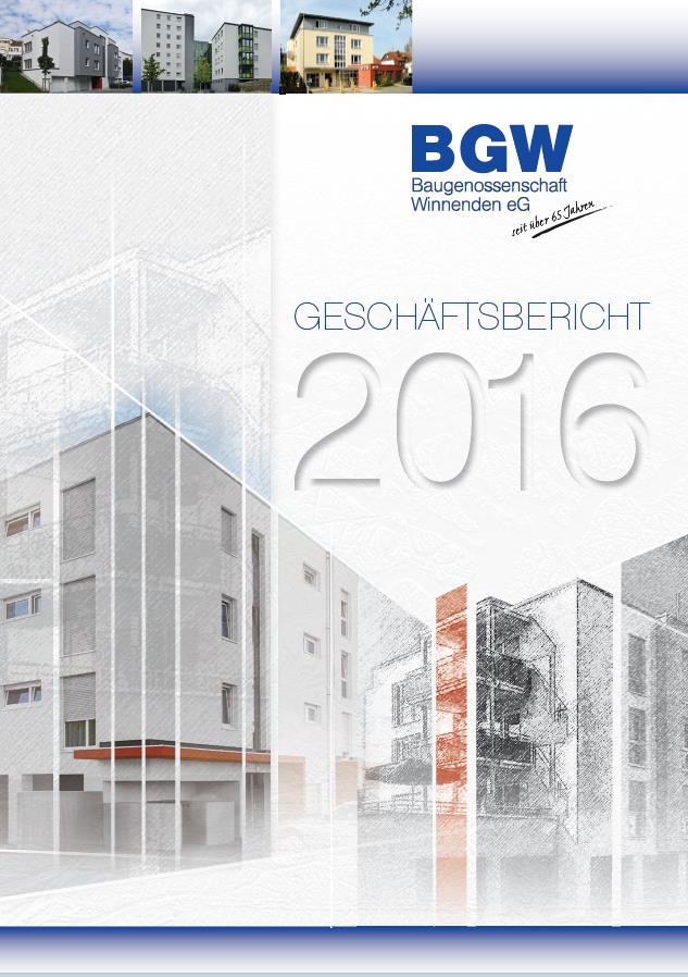 Deckblatt Geschäftsbericht - Infos