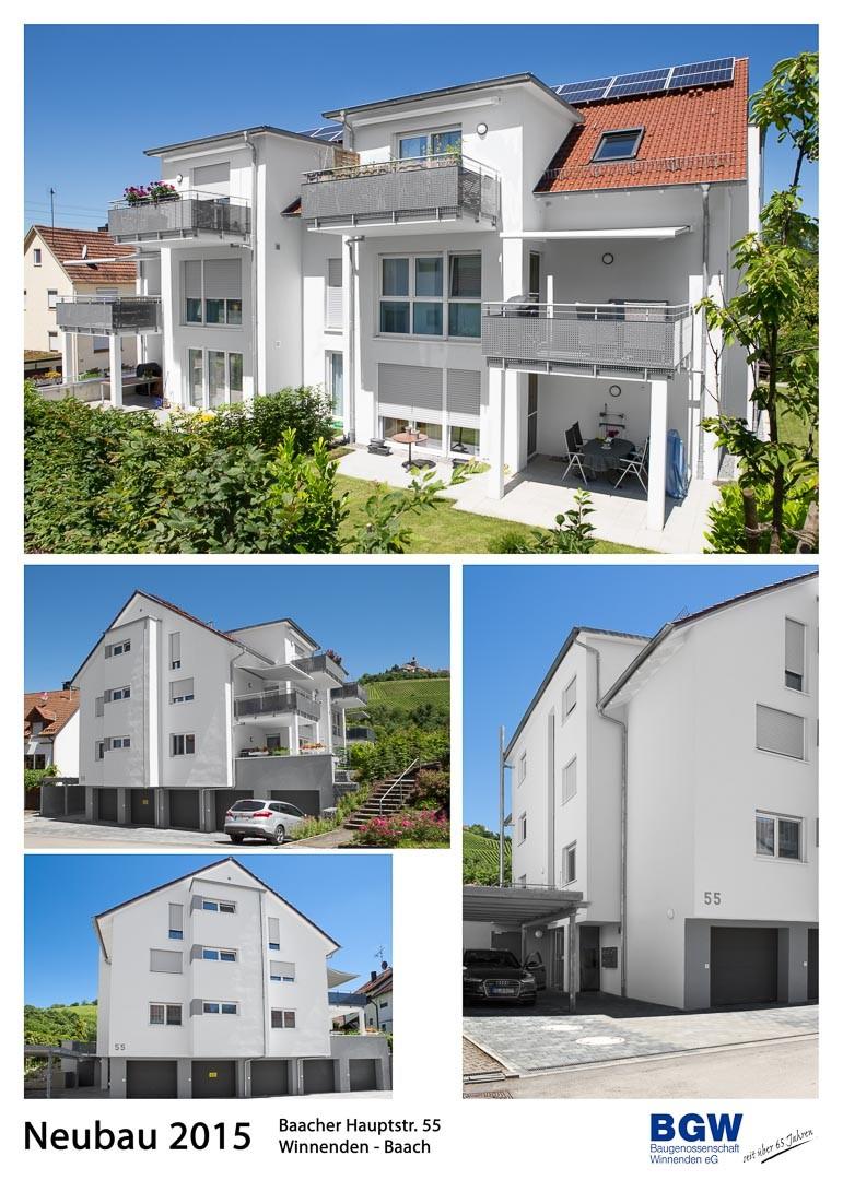 2016 Collage Baacher Hauptstr. 55 - Alle BGW-Häuser