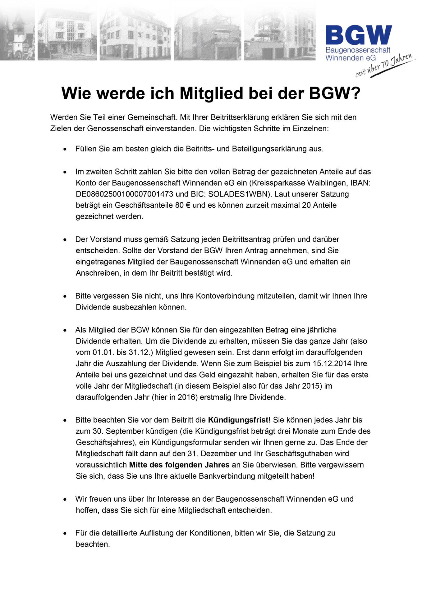 Bild Merkblatt - Infos