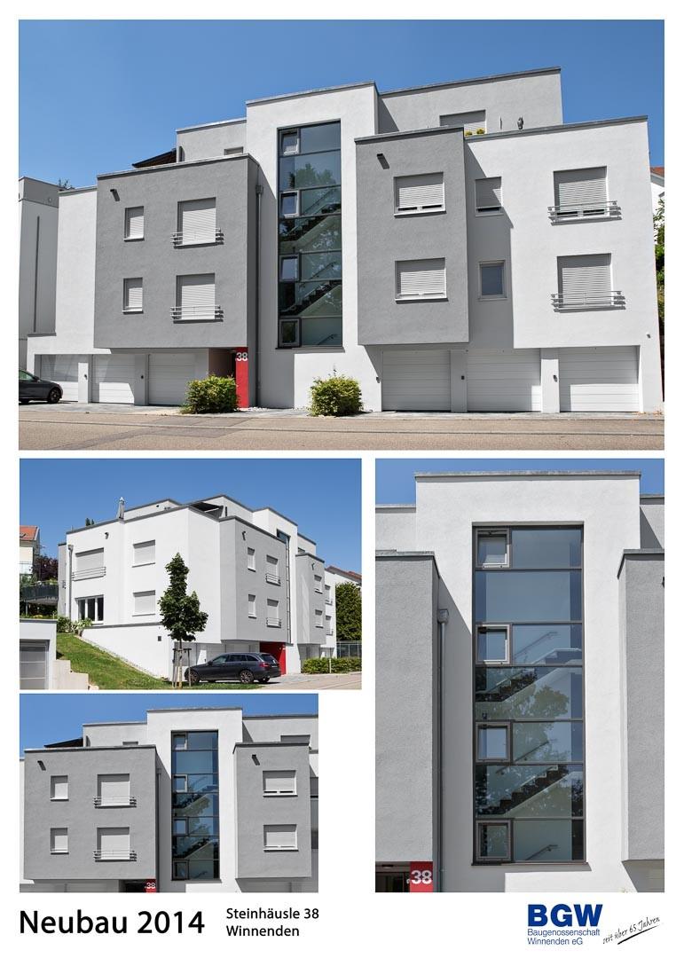 Collage Steinhaeusle 38 - Alle BGW-Häuser