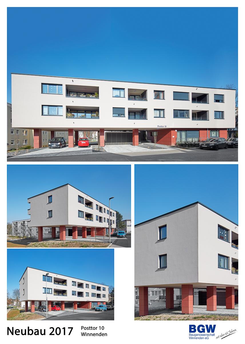 Posttor 10 - Alle BGW-Häuser