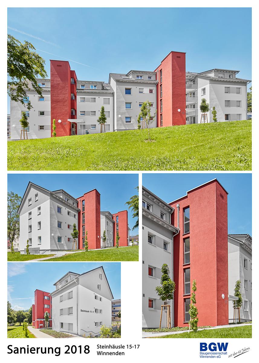 Collage Steinhaeusle 15 17 - Alle BGW-Häuser